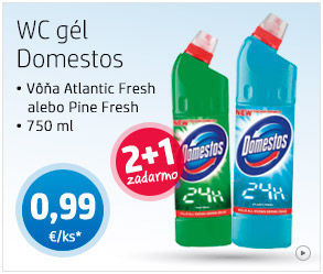 WC gél Domestos