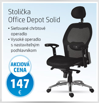 Stolička Office Depot Solid
