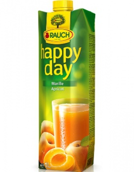 Džús HAPPY DAY - marhuľa, 1 l