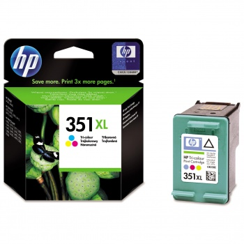 Cartridge HP CB338EE/351XL - trojfarebná