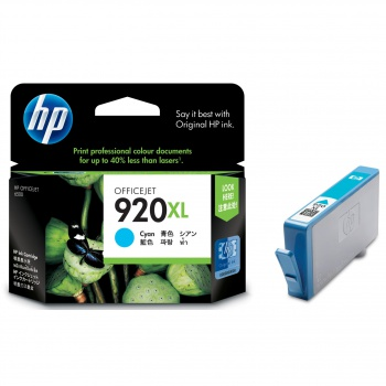 Cartridge HP CD972AE/920XL - azúrová