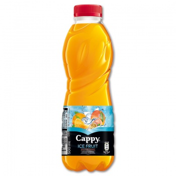 Cappy Ice Fruit - multivitamín, 12 x 0,5 l