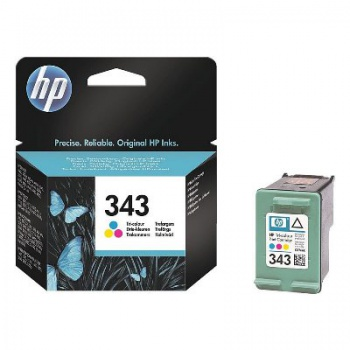 Cartridge HP C8766EE/343 - trojfarebna