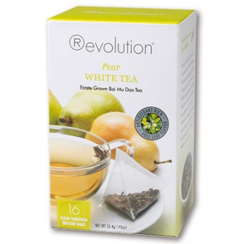 Čaj Revolution - White Pear Tea 16 x 1,65 g