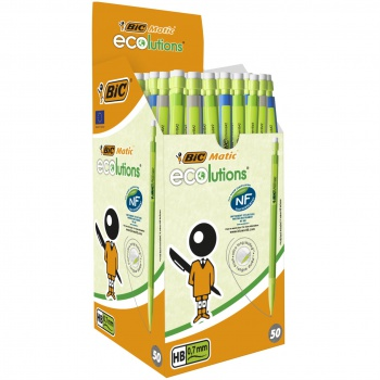 Mikroceruzka Bic Matic Ecolution - mix farieb, 0,7 mm