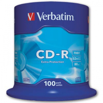CD-R Verbatim - cake box, 100 ks