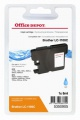 Cartridge Office Depot Brother LC1100C - azúrová