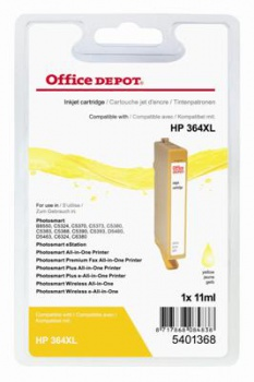 Cartridge Office Depot HP CB325EE/364 XL - žltá