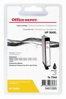 Cartridge Office Depot HP CB322EE/364 XL - čierna