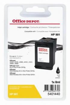 Cartridge Office Depot HP CC653AE/901 - čierna