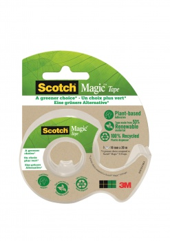 Lepiaca páska Scotch Magic 900 so zásobníkom, 19 mm x 20 m