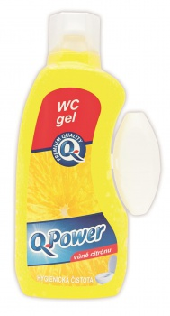WC gél Q-Power - citrus, 400 ml
