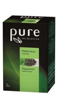 Čaj PURE TEA Selection - Mäta, 25 x 1,5 g