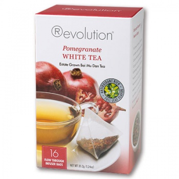 Čaj Revolution - White Pomegranate Tea 16 x 2,2 g