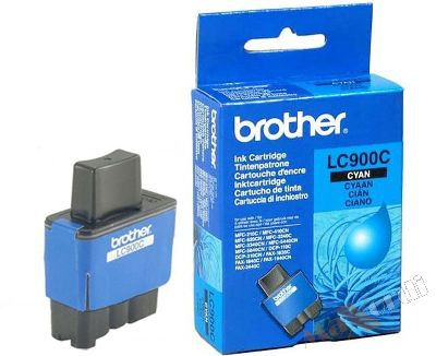 Cartridge Brother LC900C - azúrová