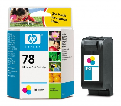 Cartridge HP C6578D/78 - trojfarebna