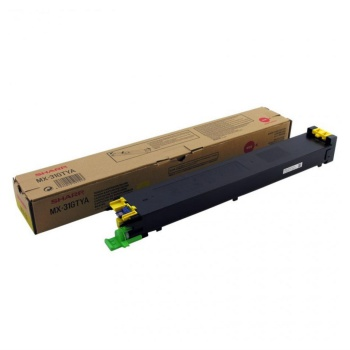 Toner Sharp MX-31GTYA - žltý