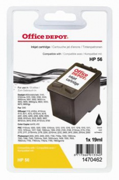 Cartridge Office Depot HP C6656A/56 - čierna