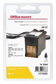 Cartridge Office Depot HP C8727A/27 - čierna
