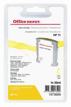 Cartridge Office Depot HP C4838A/11 - žltá