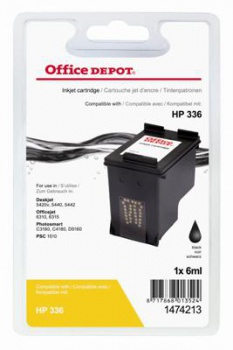 Cartridge Office Depot HP C9362EE/336 - čierná