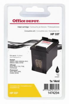 Cartridge Office Depot HP C9364EE/337 - čierna