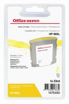 Cartridge Office Depot HP C9393AE/88 - žltá