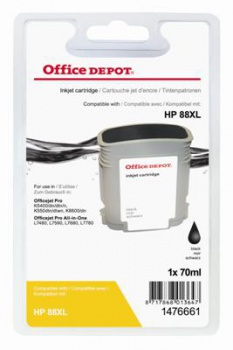 Cartridge Office Depot HP C9396AE/88XL - čierna