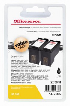 Cartridge Office Depot HP C8767E/339 - čierna