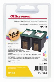 Cartridge Office Depot HP C9363EE/344 - trojfarebna