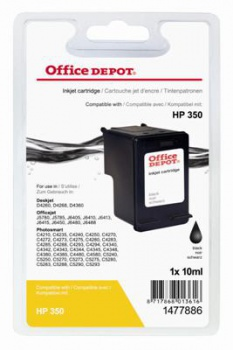 Cartridge Office Depot HP CB335EE/350 - čierna