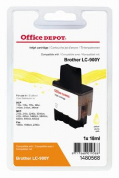Cartridge Office Depot Brother LC900Y  - žltá