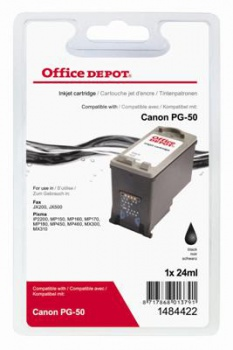 Cartridge Office Depot Canon PG50  - čierna
