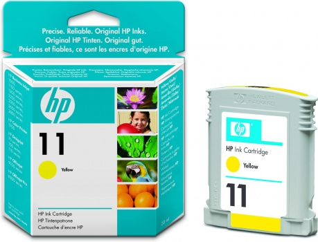 Cartridge HP C4838A/11  - žltá