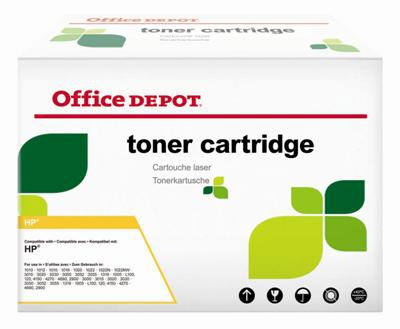 Toner Office Depot HP C9722A - žltá