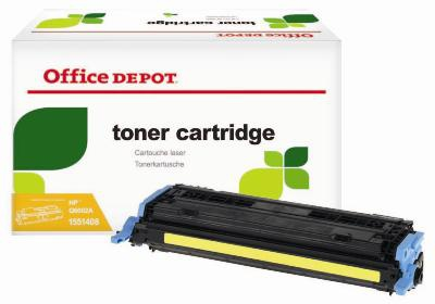 Toner Office Depot HP Q6002A - žltý
