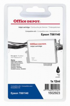 Cartridge Office Depot Epson T061140 - čierna
