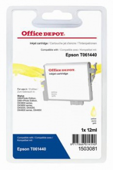 Cartridge Office Depot Epson T061440 - žltá