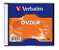 Disky DVD-R Verbatim - slim box, 20 ks