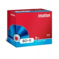 Disk BD-R Blu-ray Imation, standard box 5 ks