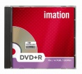 DVD+R Imation - štandard box, 10 ks