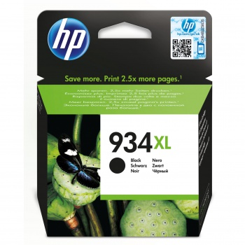 Cartridge HP C2P23AE#BGY C2P23AE 934XL  - čierna
