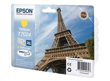 Cartridge Epson C13T70244010  - žltá