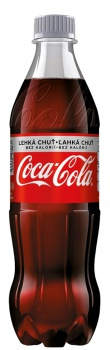 Coca Cola Light -  12 x 0,5 l, plast