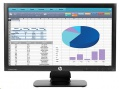"20"" monitor HP LCD ProDisplay P202 LED wide"