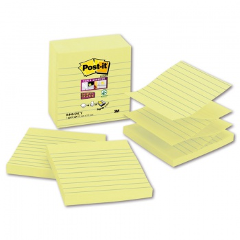 Z-bločky Post-it XL - žlté, 101,0 x 101,0 mm, 5 ks