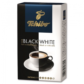 Mletá káva  Tchibo Black and White - 250 g