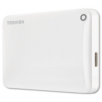 "Harddisk Toshiba Canvio Connect 2.5"" - 1 TB, biely"