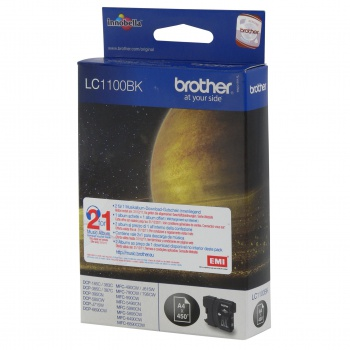 Cartridge Brother LC1100 BK  - čierna