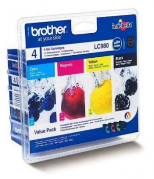 Sada cartridge Brother LC980VALBP - 4 farby